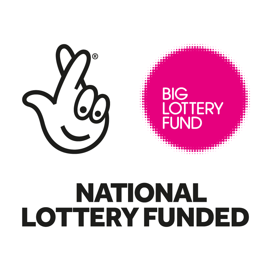 The Big Lottery Fund logo.