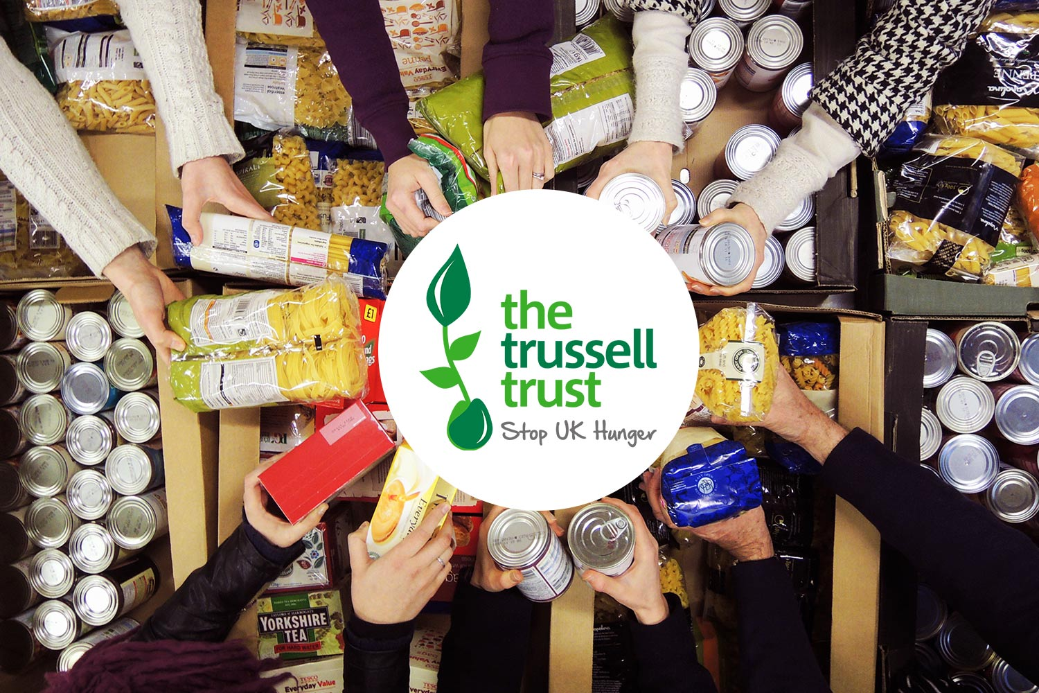 Trussell Trust food bank image