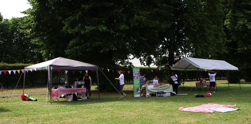 Photo of St James Park Big Lunch