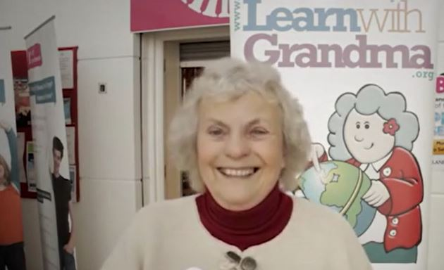 Photo of Valerie, founder of Learn with Grandma