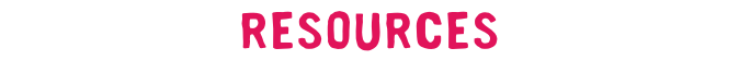 Resources Label Pink