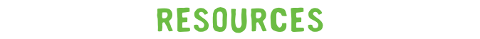 Resources label green