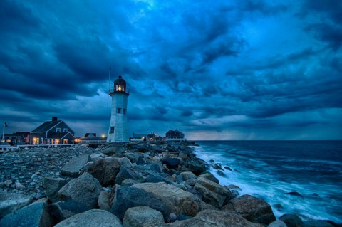 Old Scituate Lighthouse (Built In 1810), Massachusetts, USA. Image credits: Francisco Marty.
