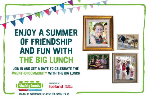Join a summer of freindship and fun with The Big Lunch