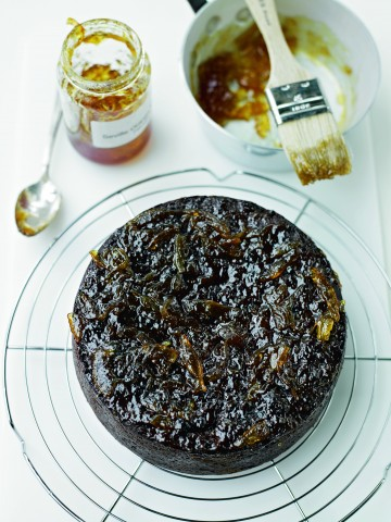Photo of Delia's sticky prune and date cake.