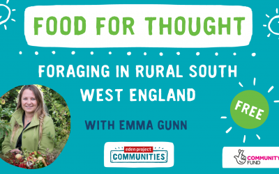 Foraging with Emma Gunn event graphic