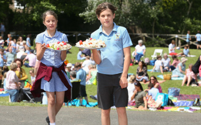 Children at Big Lunch
