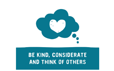 Be kind web graphic
