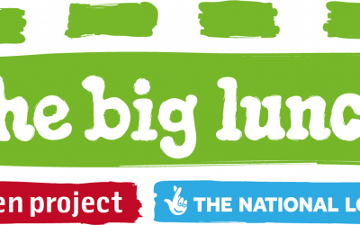 The Big Lunch and National Lottery logo
