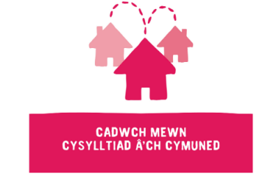 Connect web Welsh graphic