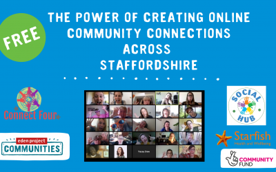 Creating Community Connections event graphic