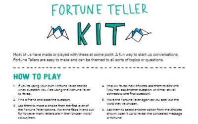Fortune teller kit image