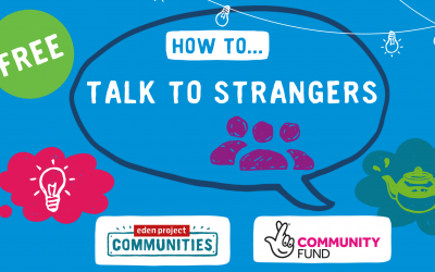 How to talk to strangers event graphic