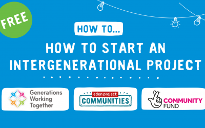 How to Start an Intergenerational project event graphic