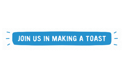 Join us in making a toast
