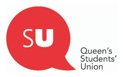 Queens student union logo