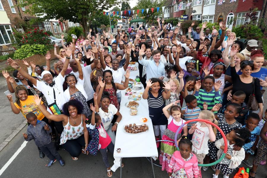 Big Lunch street party