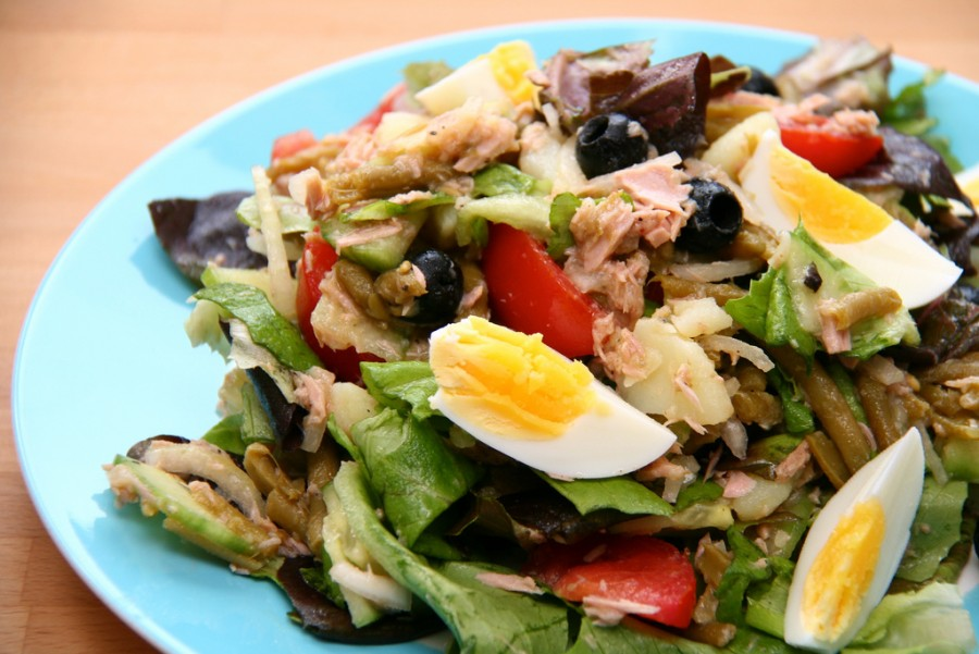 Take along a big bowl of tasty Nicoise Salad to your Big Lunch.