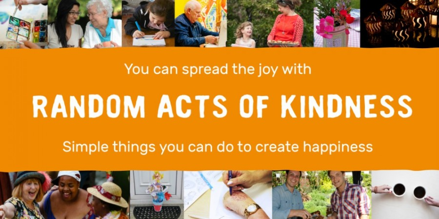 10 Random Acts of Kindness to brighten someone's day.