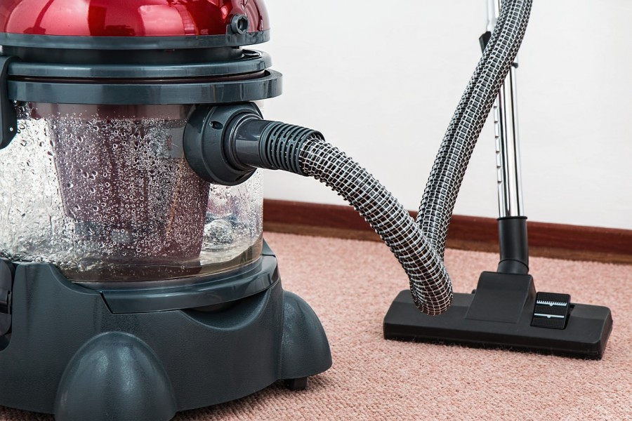 Photo of a vacuum cleaner