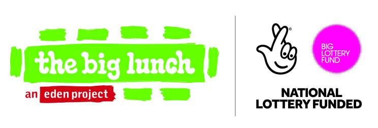 The Big Lunch and National Lottery logos